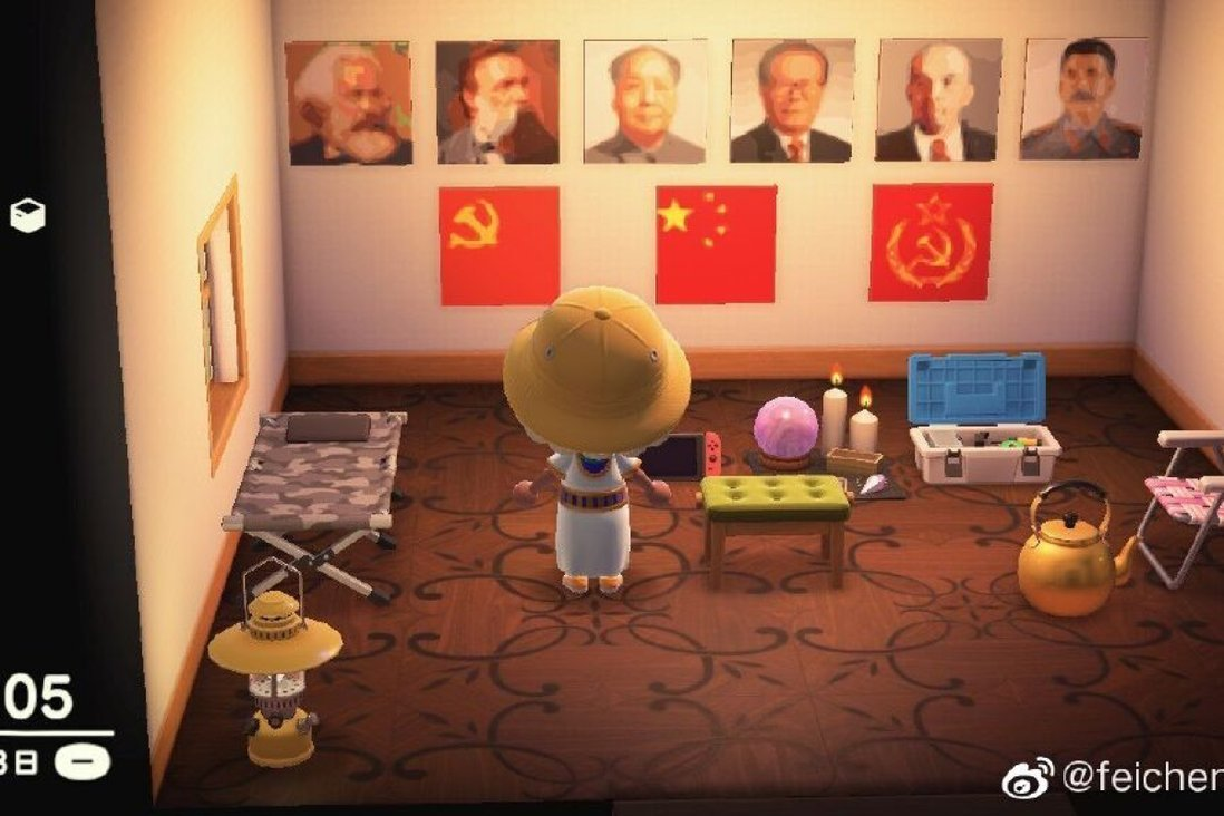 Chinese Gamers Decorate Animal Crossing With Propaganda And Covid 19 References South China Morning Post