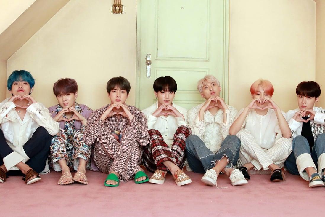"""Grup super K-pop BTS menegaskan kembali komitmen mereka untuk kampanye anti-kekerasan """"Love Myself"""" dalam kemitraan dengan Unicef bulan ini.  Foto: Big Hit Entertainment"""