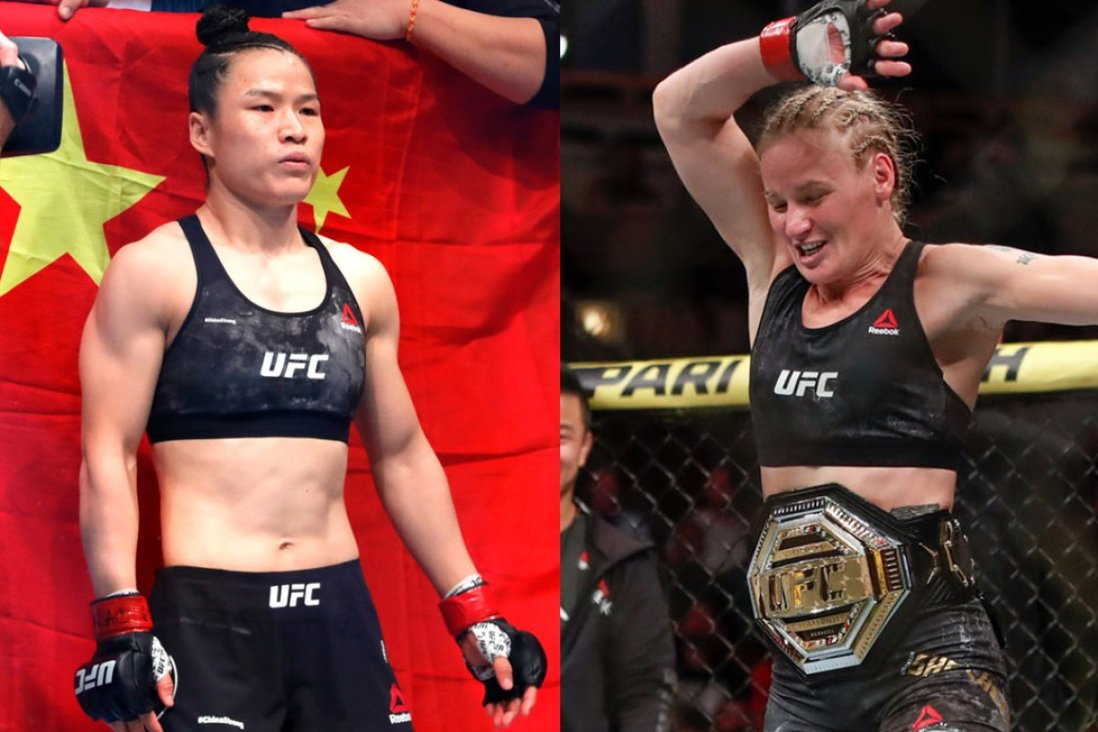 UFC 261: Zhang Weili thinks Valentina Shevchenko 'definitely feels I pose a threat' | South China Morning Post