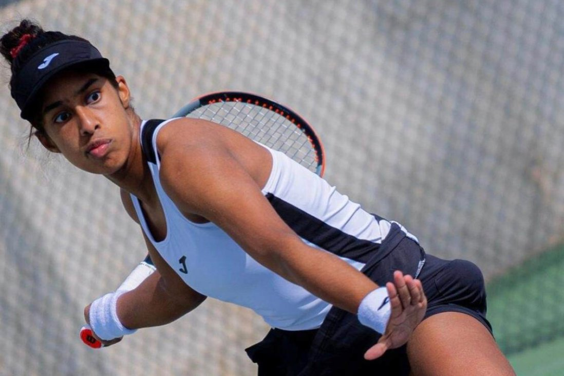 Adithya Karunaratne is trying to make it on the women's tour by competing on the brutal ITF circuit in Europe. Photo: RNA
