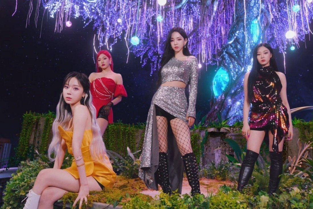 Who's the real Aespa? The hot rookie K-pop girl group is an eight-piece –  four singers, four virtual avatars – but will they release an album this  year? | South China Morning