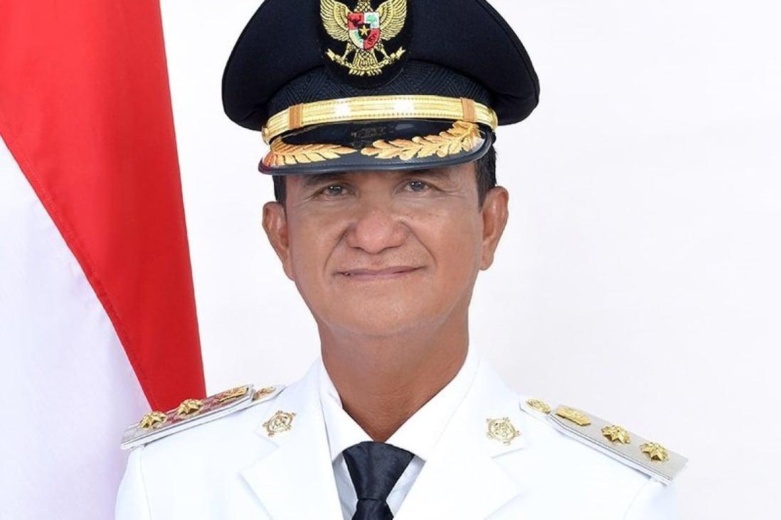 Helmud Hontong, mendiang Wakil Bupati Kepulauan Sangihe di Provinsi Sulawesi Utara, Indonesia  Foto Handout