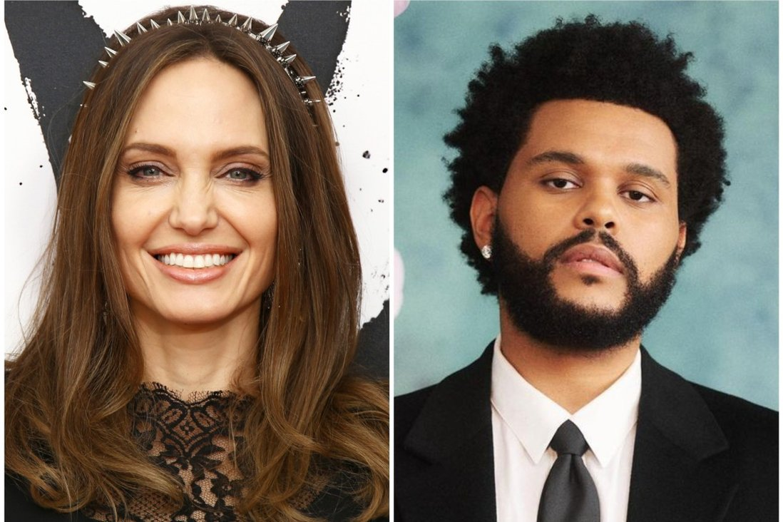 Are Angelina Jolie and The Weeknd dating? Inside their unlikely connection,  from dinner dates and song lyrics to a private concert with Shiloh and  Zahara Jolie-Pitt | South China Morning Post