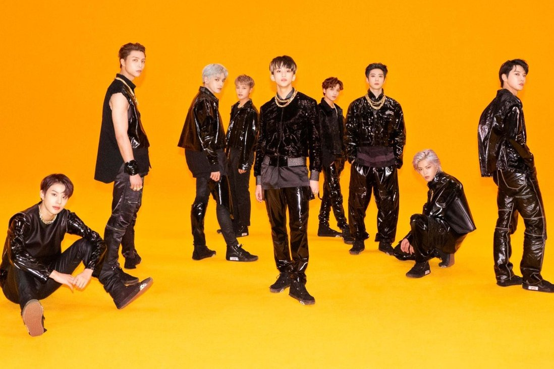 Sticker, from boy band NCT 127 (pictured), is one of 2021's best-selling K-pop albums, even though it won't be released until September 17. It racked up over 1.32 million pre-orders in 24 hours. Photo: SM Entertainment