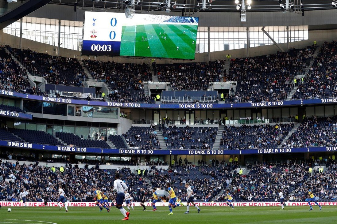 As Tottenham Hotspur Stadium Finally Opens The List Of Premier League Grounds Gaining On Old Trafford Continues To Grow South China Morning Post
