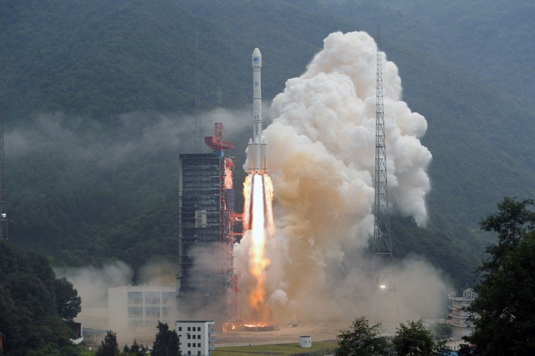 China sends twin BeiDou navigation satellites into space via a single carrier rocket from Xichang Satellite Launch Centre in Xichang, Sichuan province, last year. Photo: Xinhua