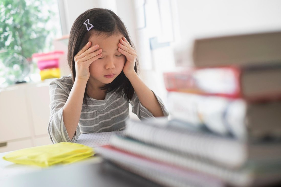 Children and stress: its causes, warning signs, and what parents can do to  reduce their kids' anxiety – advice from a psychiatrist   South China  Morning Post