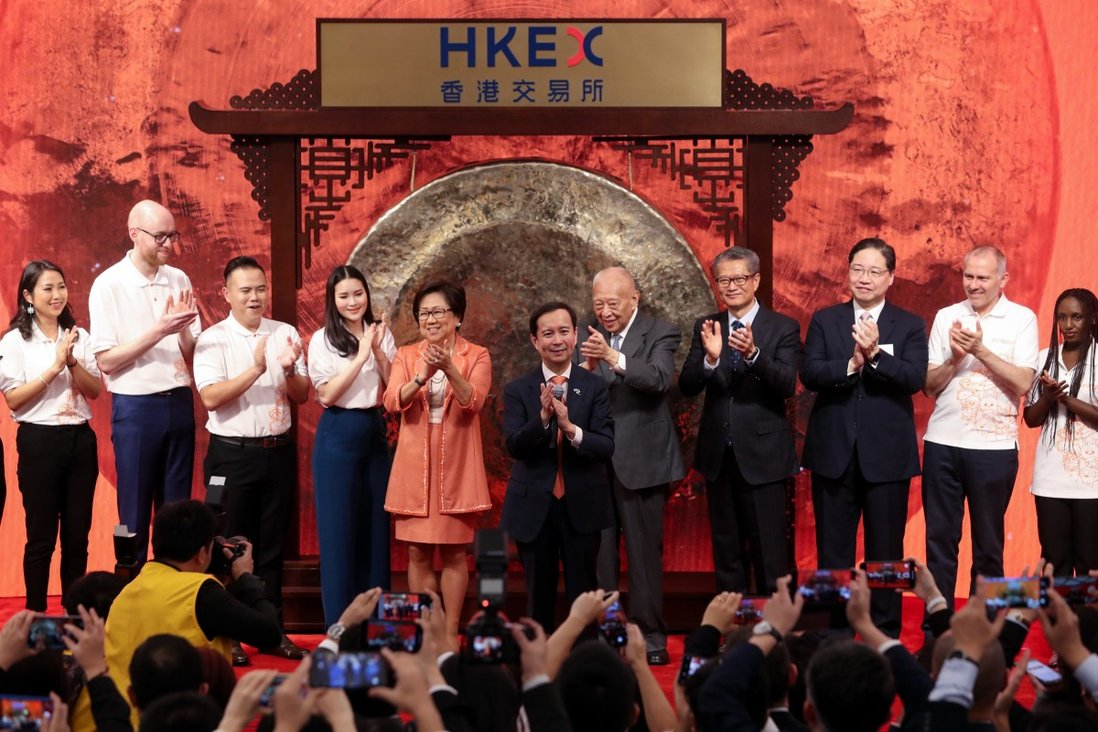 Alibaba Shares Rise In Hong Kong Debut Creating City S Biggest Stock With Hk 4 Trillion Market Capitalisation South China Morning Post