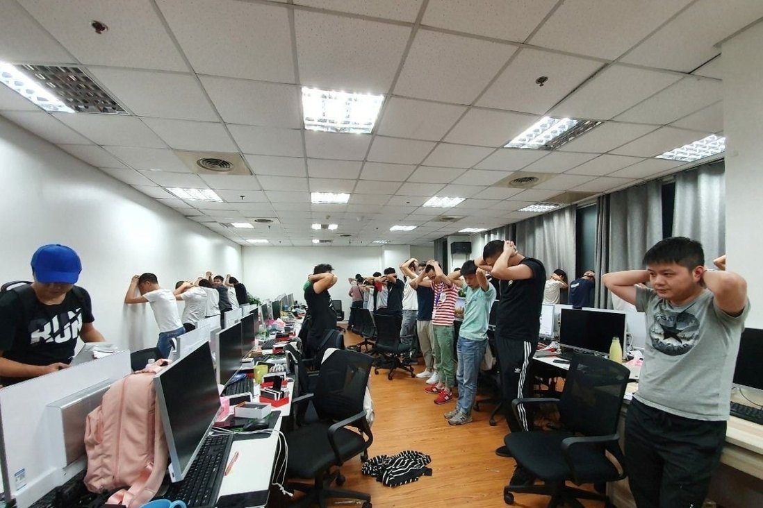 Philippines arrests 342 Chinese workers in online gaming crackdown | South  China Morning Post