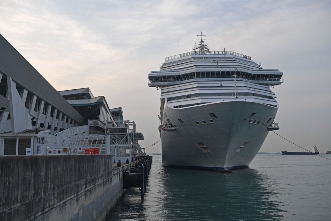 Coronavirus Italian Cruise Ship Docked In Singapore Forced To Cancel Next Two Voyages South China Morning Post