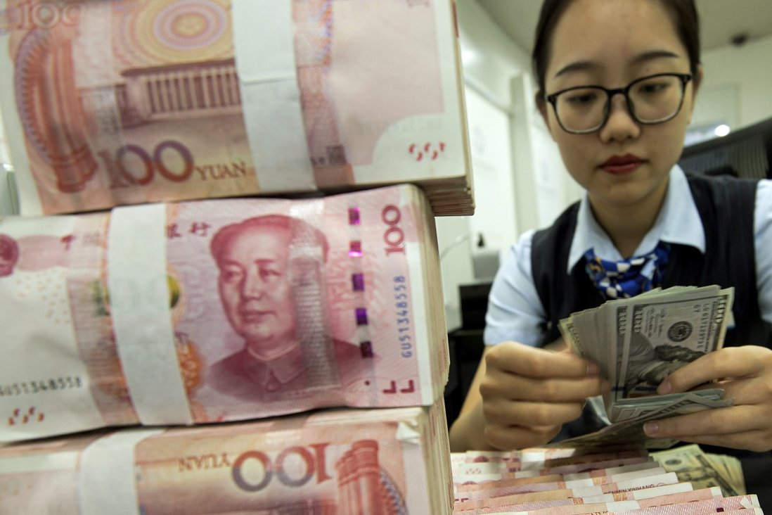 The Institute of International Finance (IFF) estimated that China's total domestic debt would likely to hit 335 per cent of gross domestic product (GDP) in the second quarter of 2020, up from 318 per cent in the first quarter – the largest quarterly increase on record. Photo: AP