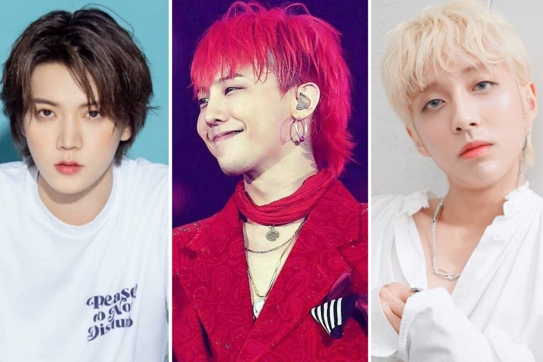 K Pop S Lgbt And Androgynous Idols From Amber Liu And Nu Est S Ren To G Dragon S Vogue Photo Shoot These Stars Are Challenging South Korean Gender Norms South China Morning Post