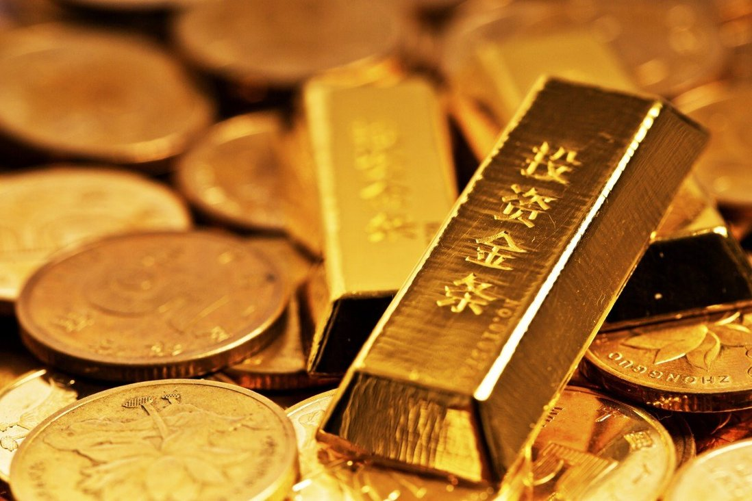 A sample of a Chinese gold bar. Photo: Handout