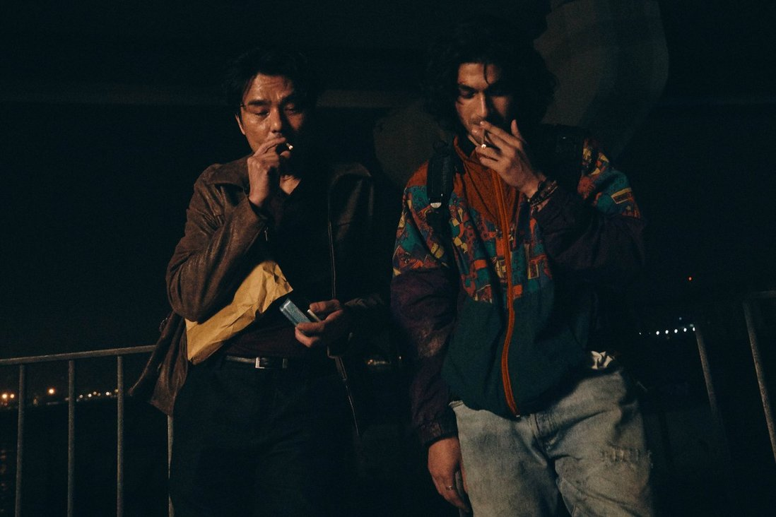 Lam Ka-tung and Bipin Karma in a still from Hand Rolled Cigarette, the opening film of Hong Kong Asian Film Festival 2020.