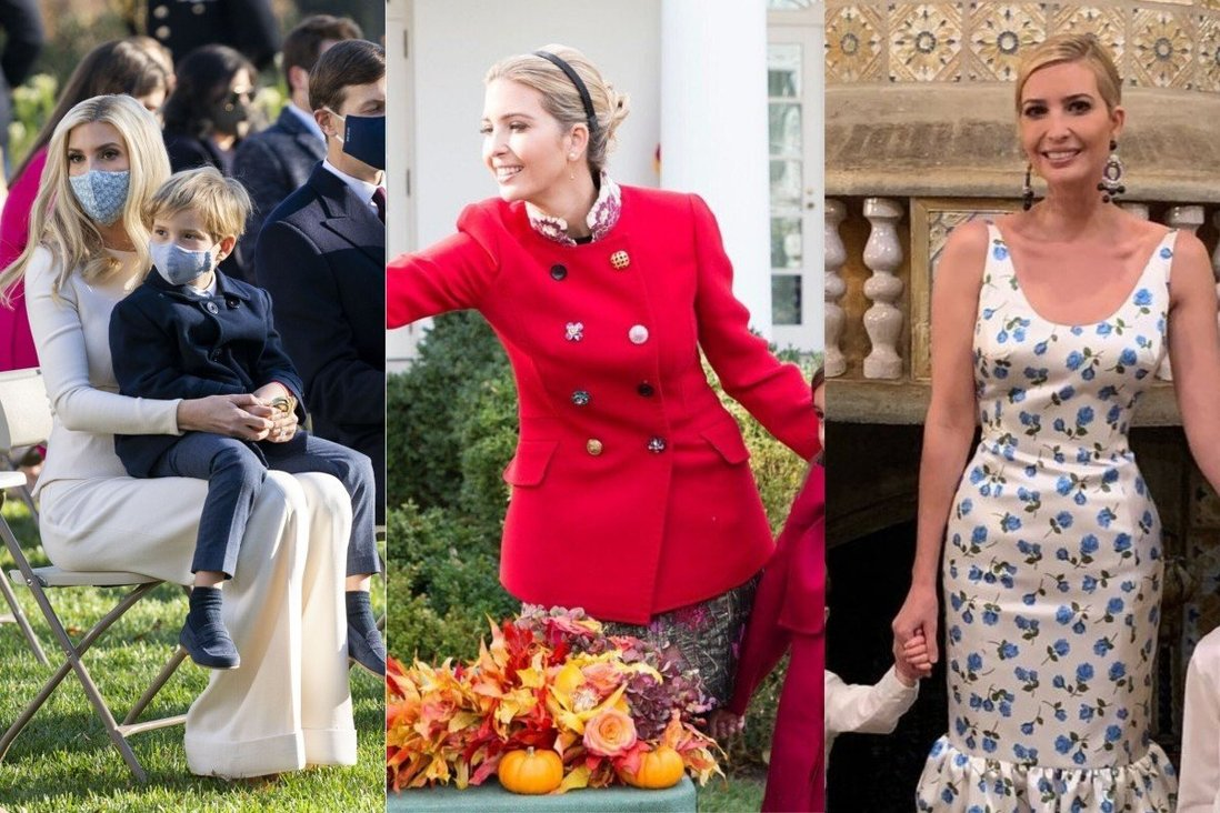 What S Donald Trump S Daughter Ivanka Wearing This Holiday Season Here Are 6 Previous Thanksgiving And Christmas Looks That Might Clue Us In South China Morning Post
