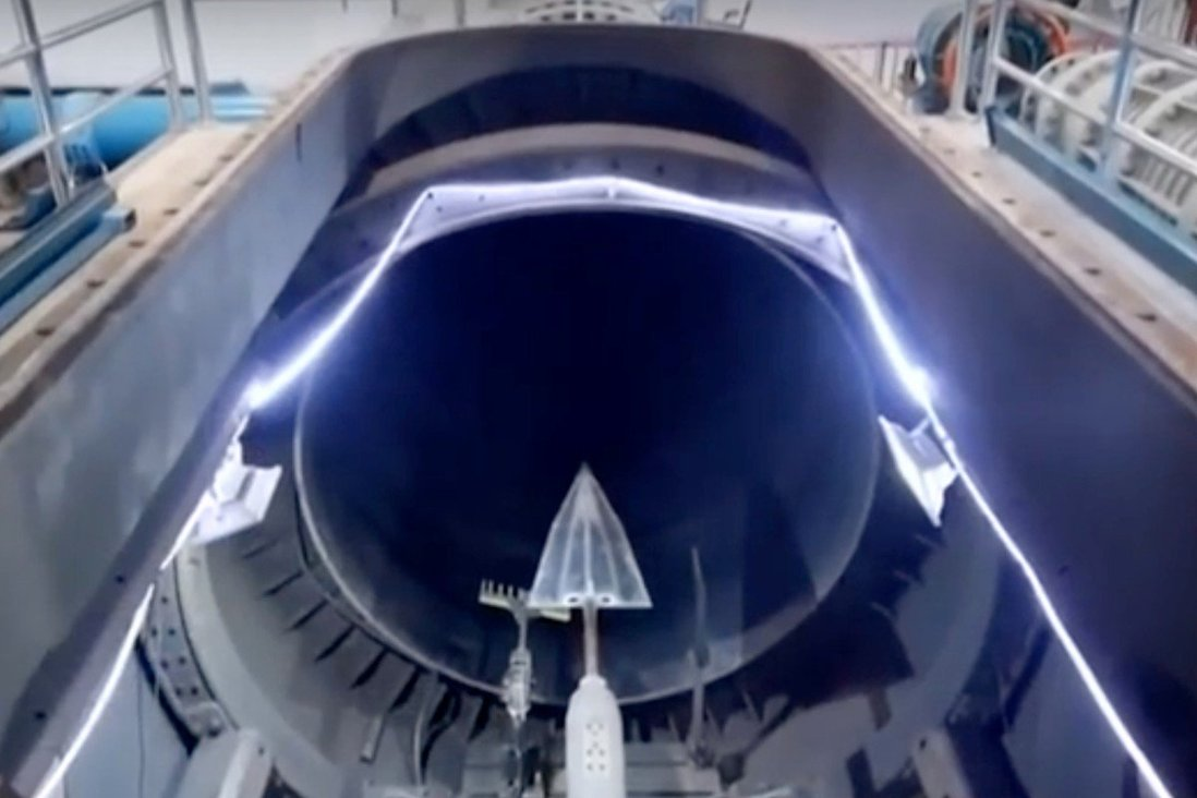 The engine was tested in a wind tunnel in Beijing. Photo: Handout