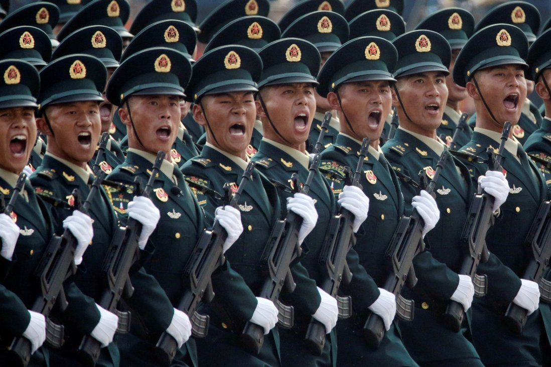 China has the world's largest army, with more than 2 million active personnel. Photo: Reuters