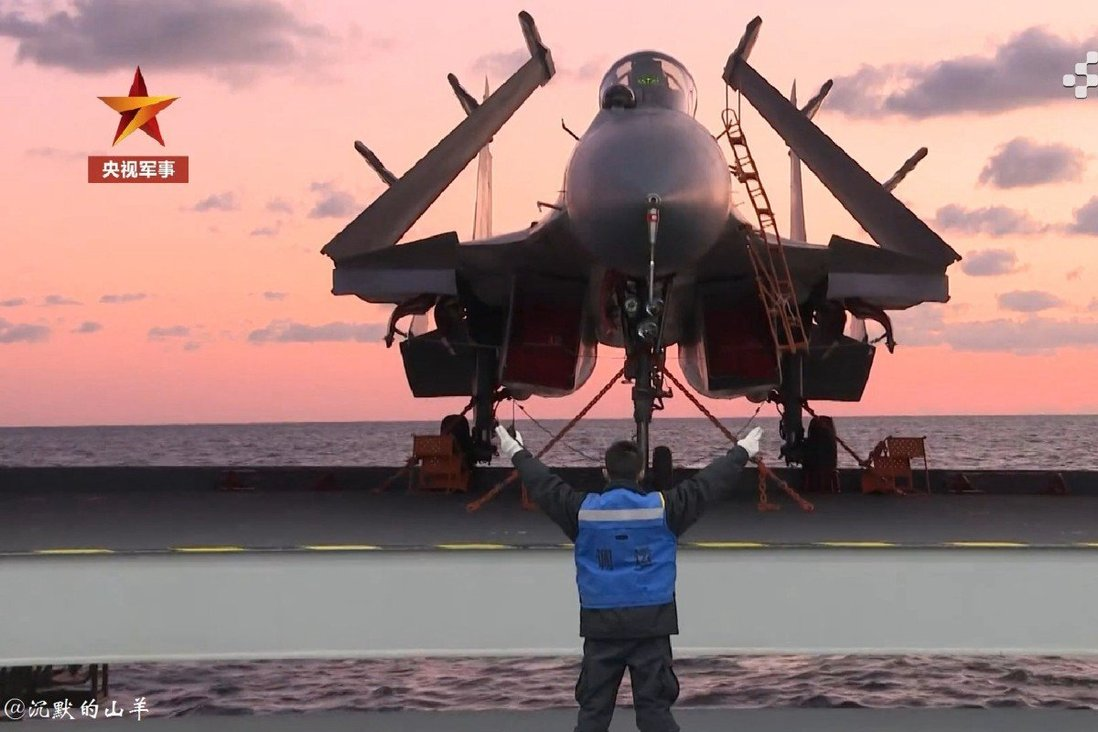 The Shandong's 23-day sea trial included fighter jet take-off and landing training