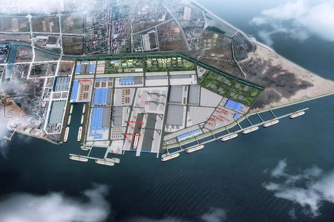 Artist's impression of the new facilities at Jiangnan Shipyard. Photo: Handout