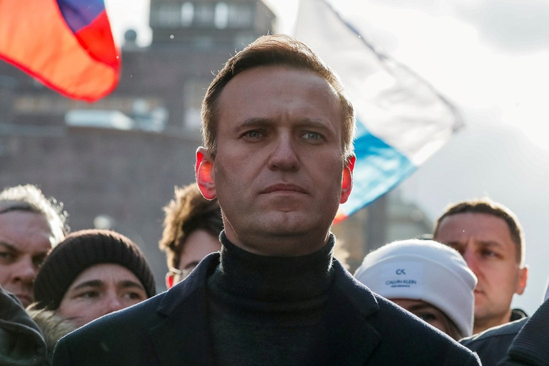 Russian Court Sentences Alexei Navalny to Three and a Half Years in Prison