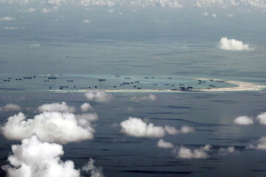 Japan's diplomatic note made reference to China's protests against the overflight of Japanese aircraft at Mischief Reef. Photo: AP