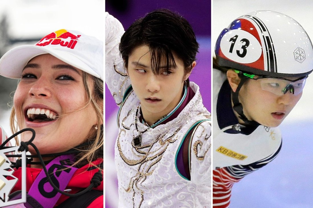 Chinese skier Eileen Gu, Japanese figure skater Yuzuru Hanyu and South Korean speed skater Shim Suk-hee are some of the Beijing Winter Olympics most exciting Asian athletes. Photo: AP YuzuNews2021 dal 1 al 10 febbraio