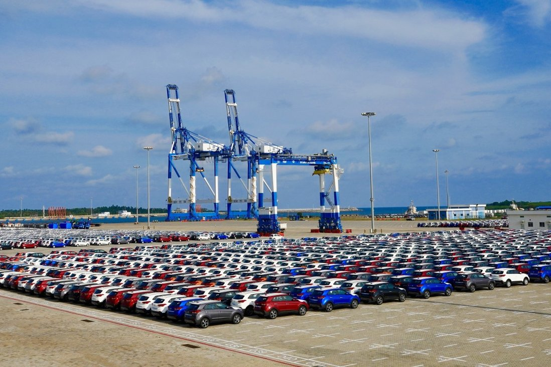 China signed a deal to lease the Hambantota port, located at the southern tip of Sri Lanka, in 2017. Photo: Xinhua