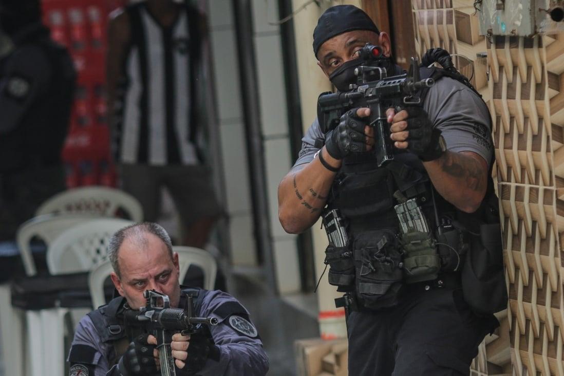 Bloodbath in Brazil as 25 die in police raid on Rio slum | South China  Morning Post