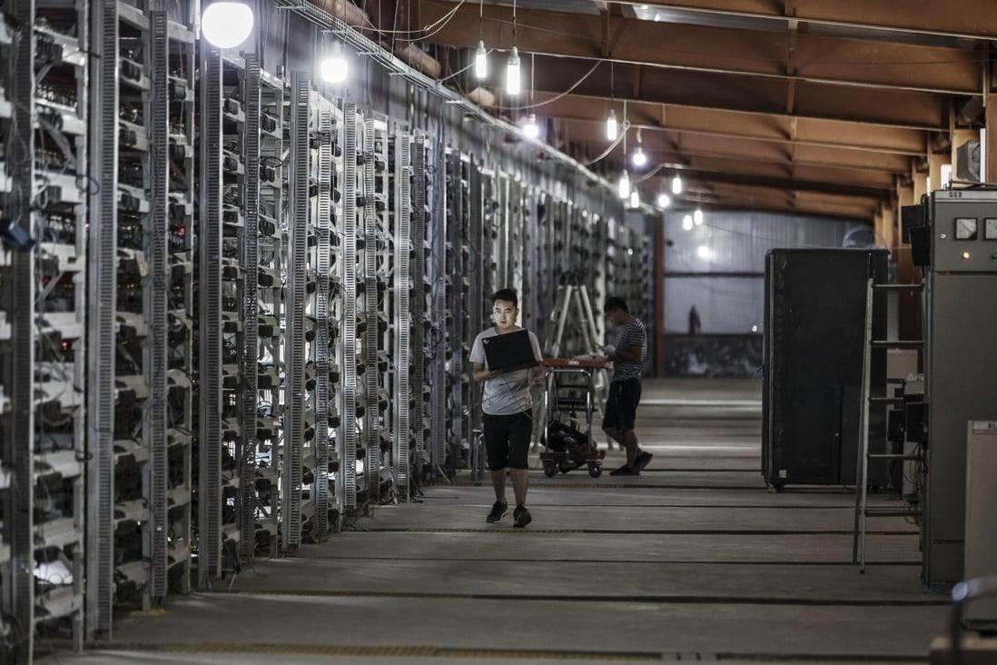 cinese bitcoin azienda mineraria