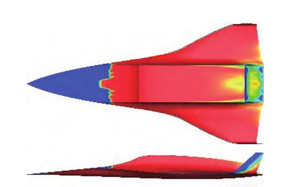 The design of the plane included some features with similarities to a Concorde. Photo: Beijing Institute of Technology