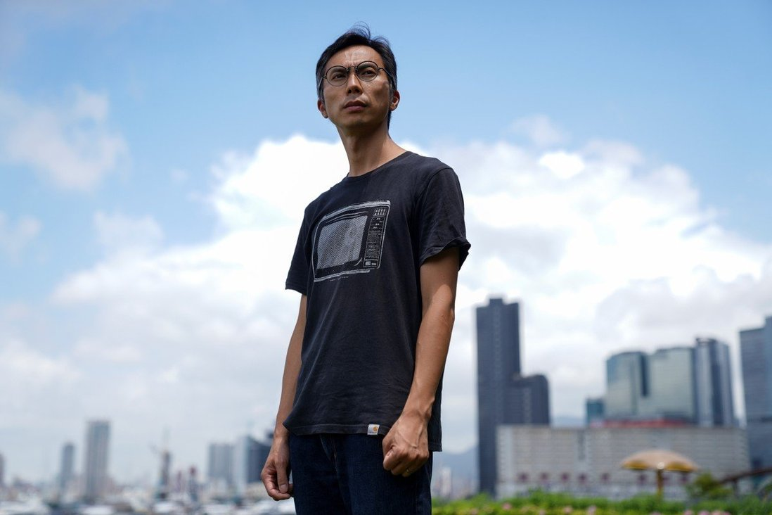 Filmmaker Kiwi Chow says he will not leave Hong Kong in spite of security law risks after his film was screened at Cannes. Photo: Reuters