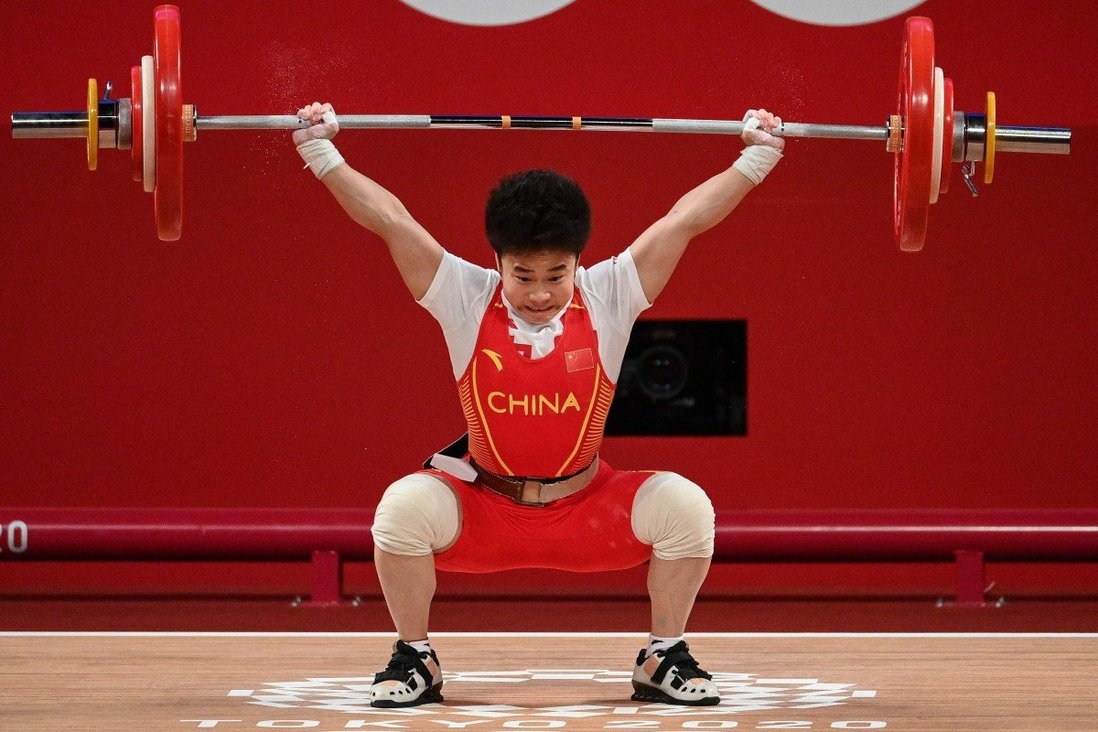 Tokyo Olympics: record-breaker Hou Zhihui wins China's second gold of Games  in weightlifting   South China Morning Post