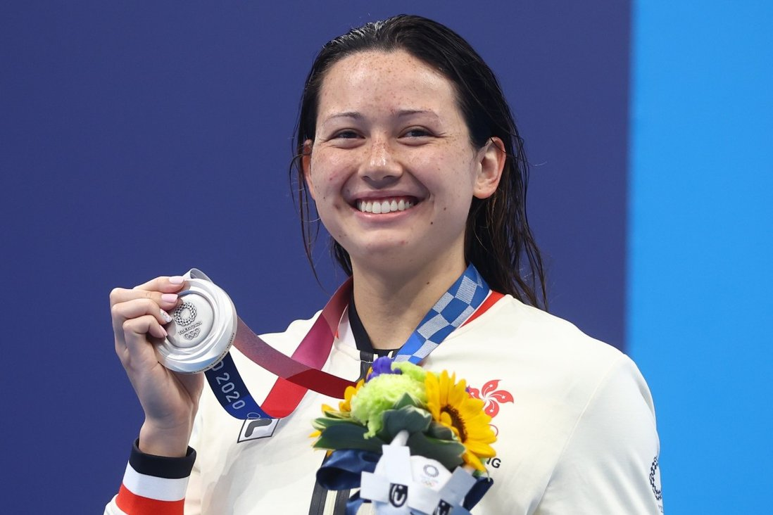 Siobhan Haughey's Olympic medal is an inspiring example of what can be accomplished with perseverance, self-denial, hard work and dedication. Photo: Reuters