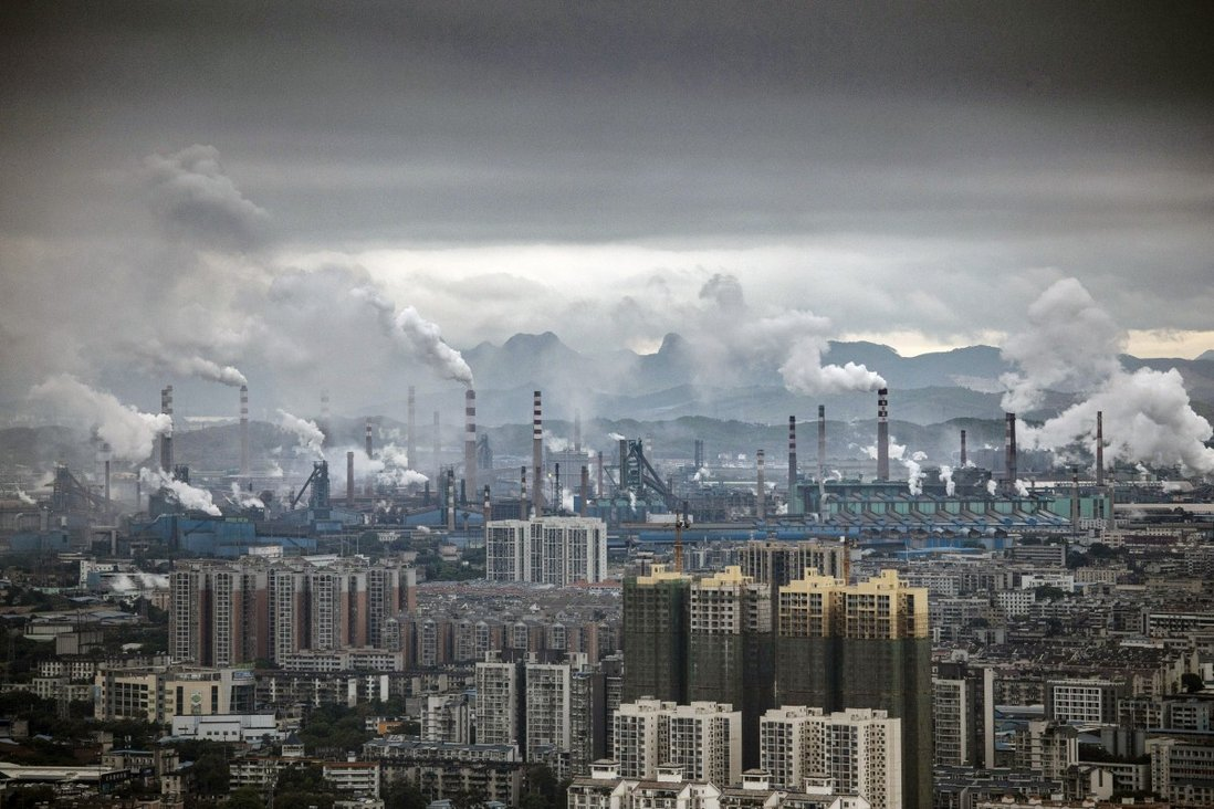 Greenpeace said the gap was widening between Chinese provinces that were leading the country's green transformation and those that relied heavily on coal. Photo: Bloomberg
