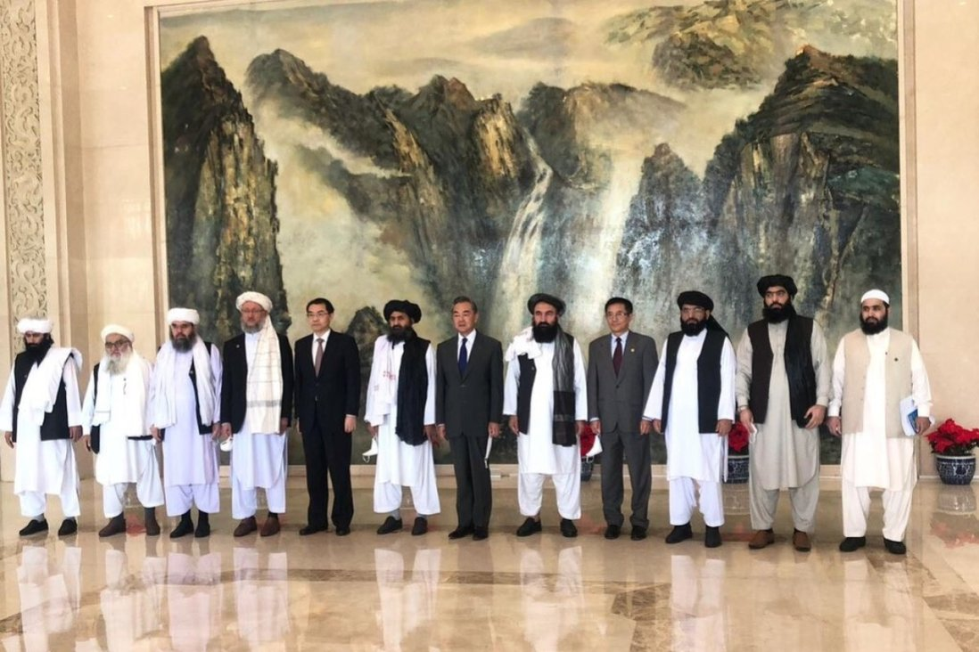 China pledges support for Taliban in Afghanistan, but demands end to ETIM  ties | South China Morning Post