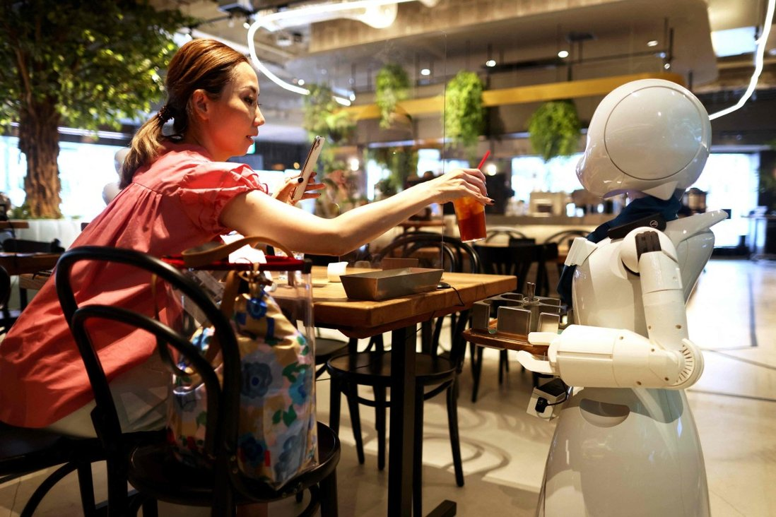 At this Japanese robot cafe, staff can serve customers while working from home   South China Morning Post