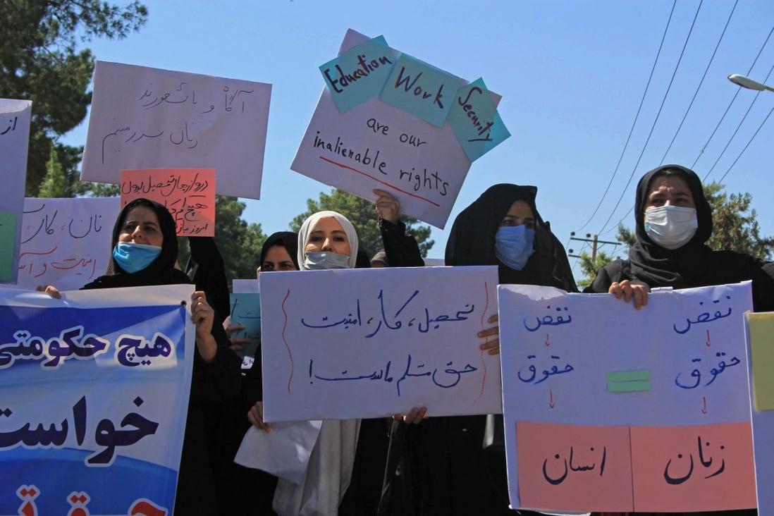 women v Taliban
