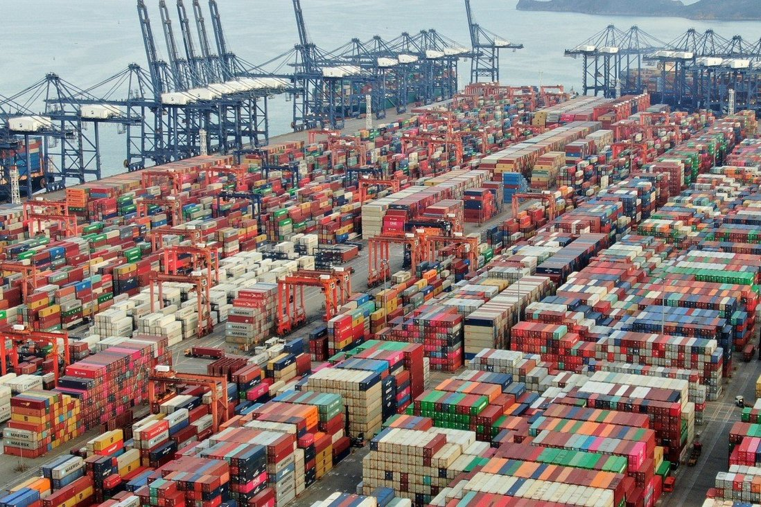 Since the start of the pandemic, Chinese exporters have had to contend with a shortage of containers and high freight costs. Photo: Martin Chan