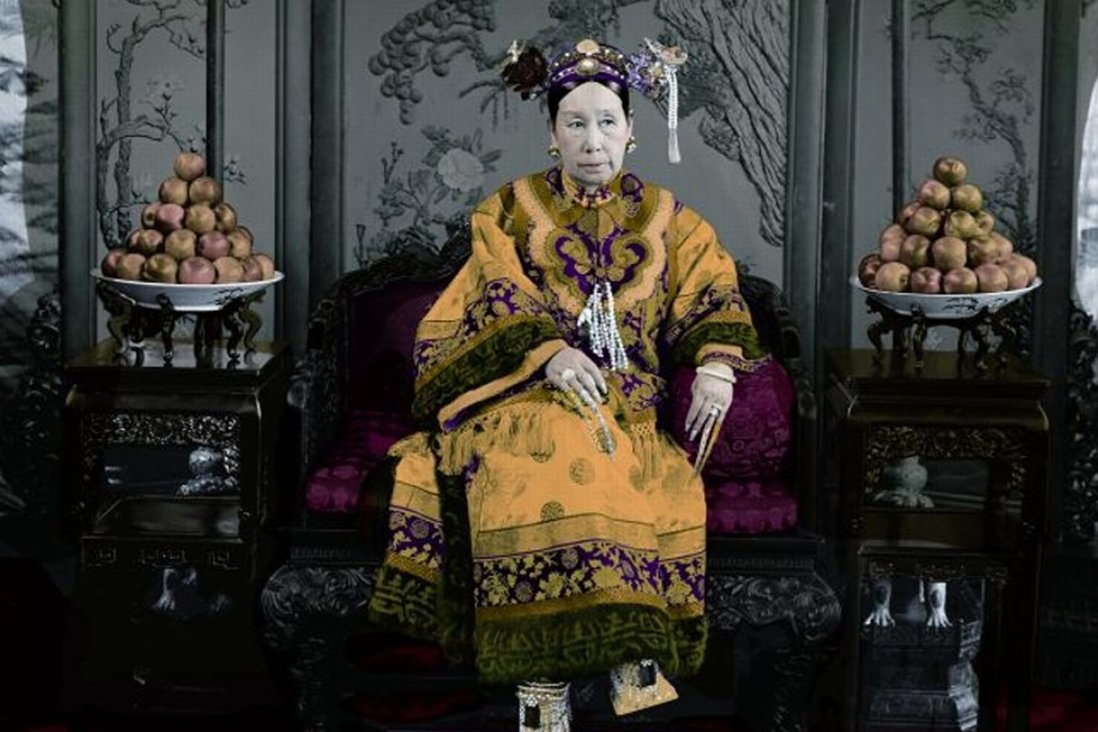 Empress Dowager Cixi, who died 109 years ago today.