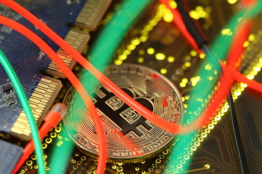 kinijos ženminbi bitcoin)