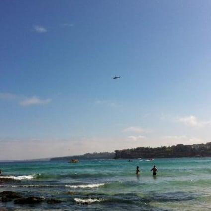 Thousands Flee As Shark Scare Closes Australia S Bondi Beach South China Morning Post