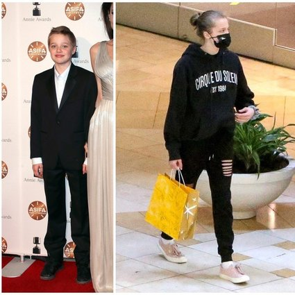 A jolie like dress does boy shiloh pitt How Angelina