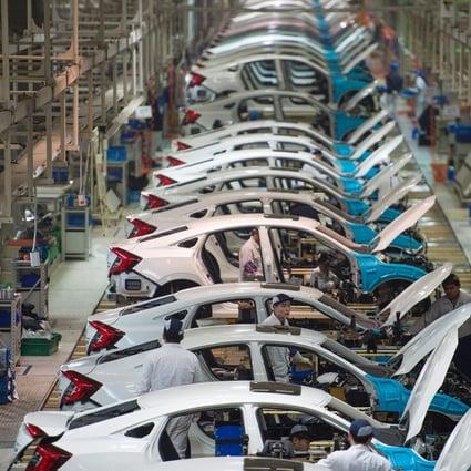 Honda Thrives In China S Slumping Car Market As Its Civic Cr V Models Prove Popular With Mainland Consumers South China Morning Post