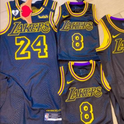 NBA: Lakers plan to wear Kobe Bryant-inspired Black Mamba jerseys ...
