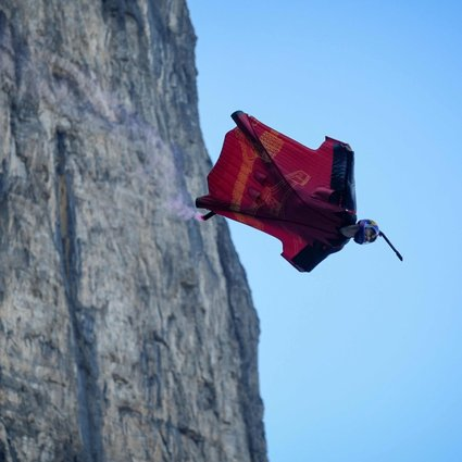 I feel like a bird': extreme sports like wingsuit jumping are starting to  take off in China | South China Morning Post