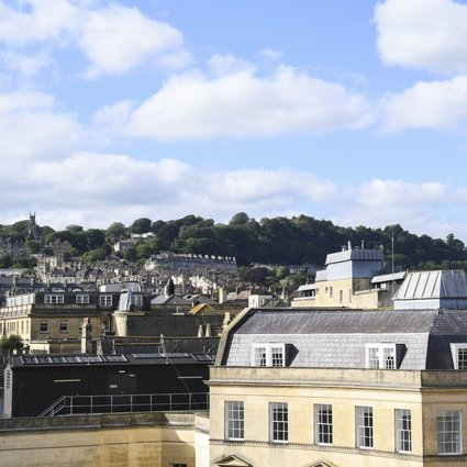 Bath in the west of England, famous for its Georgian architecture, was where many of the scenes in Netflix series Bridgerton were filmed. Photo: Shutterstock
