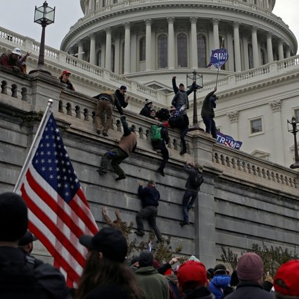 Beijing mouthpiece says US Capitol attack proves democracy is 'a failure' |  South China Morning Post