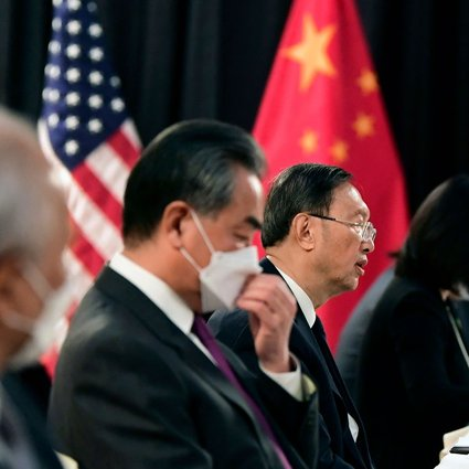 Alaska summit: China and US far apart on hot-button issues but agree to set  up climate change group as talks end | South China Morning Post