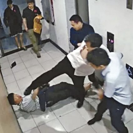 Zhang Tao, who was chairman and party secretary of China Aerospace Investment Holdings, has been arrested in Beijing over alleged assaults on two scientists – Wang Jinnian, 55, and 85-year-old Wu Meirong – after they reportedly declined to recommend him to an international agency. Photo: Handout