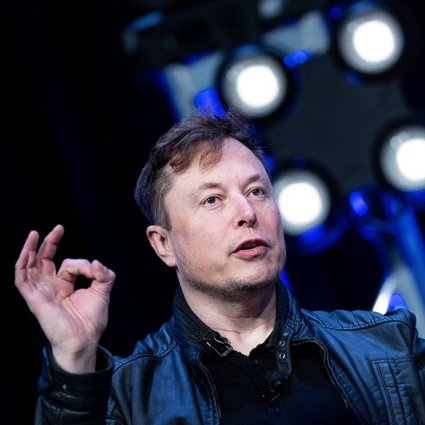 Elon Musk, founder of SpaceX, speaks during the Satellite 2020 conference at the Washington Convention Center on March 9, 2020, in Washington. Musk said on July 21 that his space exploration company owns bitcoin and that his electric car company Tesla would likely accept it as payment again when it uses more clean energy. Photo: AFP